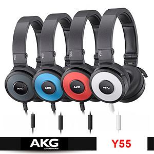 AKG Y55  紅色 耳罩式DJ專用 支援智慧型手機接聽