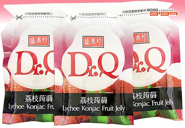 【吉嘉食品】盛香珍 成偉 Dr.Q 蒟蒻果凍 荔枝口味 600公克 {016-622}[#600]