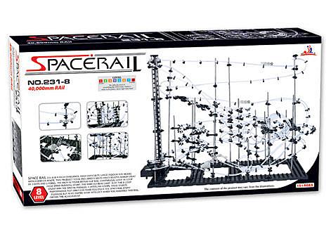 【賽先生科學工廠】Spacerail 曲速引擎 瘋狂雲霄飛車 - 等級 8