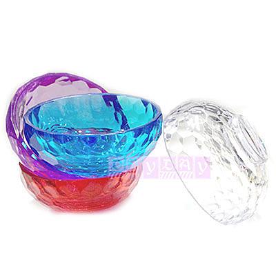 WOMAN HOUSE 壓克力7cm水晶碗-四色 [45358] ◇瓶瓶罐罐容器分裝瓶◇