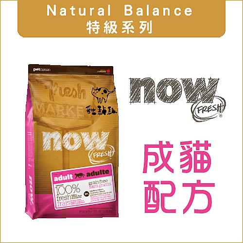 Now〔鮮肉無穀成貓配方,4磅,加拿大製〕(活動優惠價)