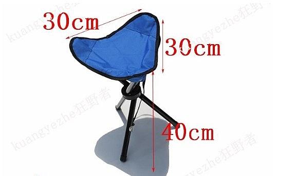 (協貿國際)攜帶椅方便折疊椅板凳釣魚椅三角椅馬扎椅板凳 2入
