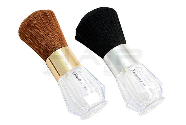 晶鑽羊毛頸刷/髮刷(可裝痱子粉)【HAiR美髮網】