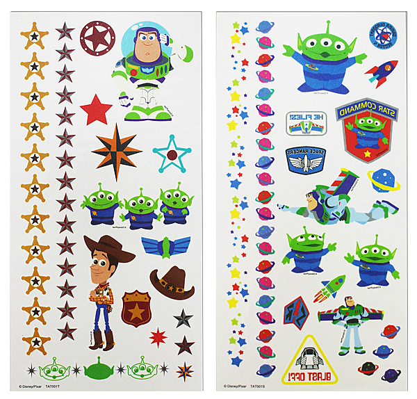 【卡漫城】 Toy Story 紋身貼紙 兩張一組 ㊣版 轉印貼紙 台灣製 玩具總動員 巴斯光年 胡迪 三眼怪