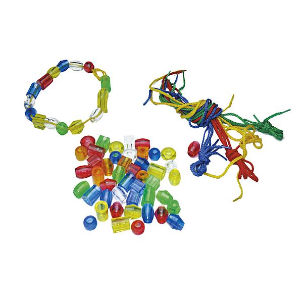 【華森葳兒童教玩具】建構積木系列-透明大串珠 E10-L01C
