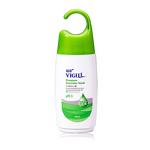 【奇買親子購物網】婦潔 私密精油沐浴露(舒緩淨護)180ml Vigill Premium Feminine Wash (Soothing)