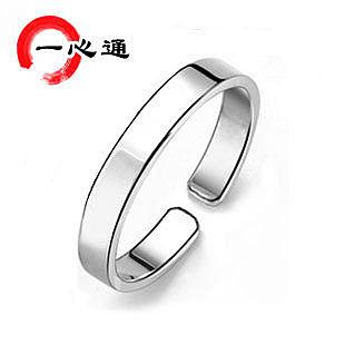 純銀戒指 純愛