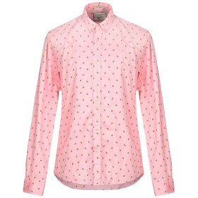 《セール開催中》SCOTCH & SODA メンズ シャツ ピンク XL コットン 100%