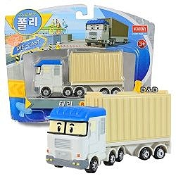 《 POLI 波力 》合金單車系列 - 泰瑞╭★ JOYBUS玩具百貨