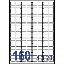 Unistar 裕德3合1電腦標籤紙 (27)US0256 160格 (20張/包)