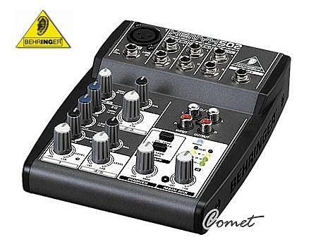 德國Behringer 5軌混音器 XENYX 502