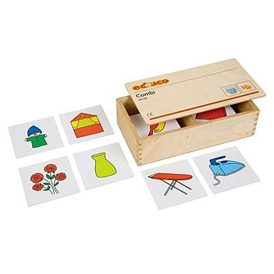 【華森葳兒童教玩具】益智邏輯系列-組合遊戲-找關係 K5-522129