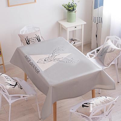 時尚可愛空間餐桌布 茶几布 隔熱墊 鍋墊 杯墊 餐桌巾229  (70*130cm)