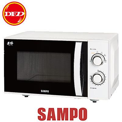 SAMPO 聲寶 RE-N725PR 微波爐 25L 機械式 平台式 公司貨 REN725PR