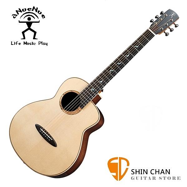 aNueNue MB200 飛鳥 36吋 全單板 小吉他 月亮雲杉面板 / 印度玫瑰木 附多樣配件