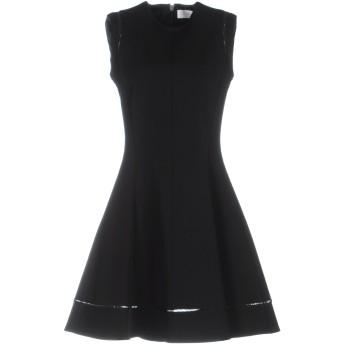 《セール開催中》VICTORIA BECKHAM レディース ミニワンピース&ドレス ブラック 6 レーヨン 86% / ポリエステル 10% / ポリウレタン 4%