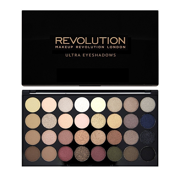 英國 Makeup Revolution Ultra 32 Shade Eyeshadow 32 色眼影盤