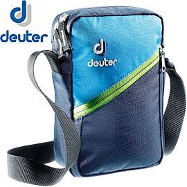 丹大戶外【Deuter】德國Escape 2休閒旅遊隨身輕便側背包2L/貼身肩背包/旅遊防扒手 85113 深藍/藍