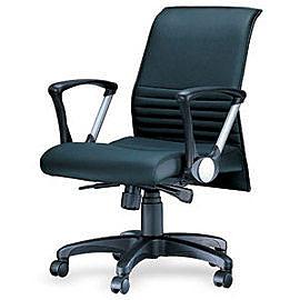 CS-202 中背透氣皮辦公椅 / 張