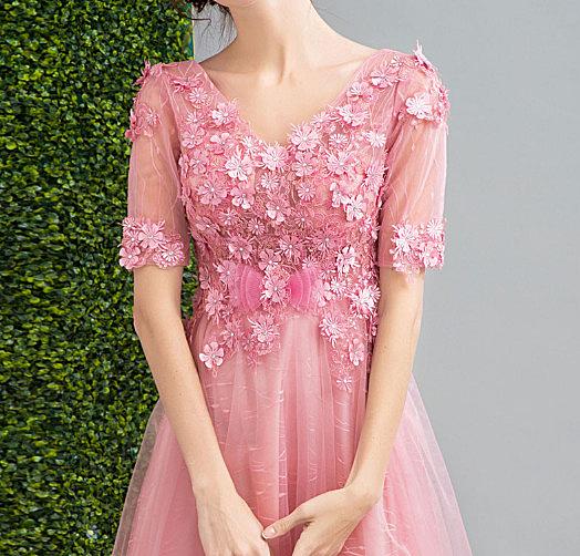 (45 Design)    7天到貨 客製化顏色大尺碼訂做訂做 日韓婚紗長禮服 高級訂製小禮服 大尺碼23