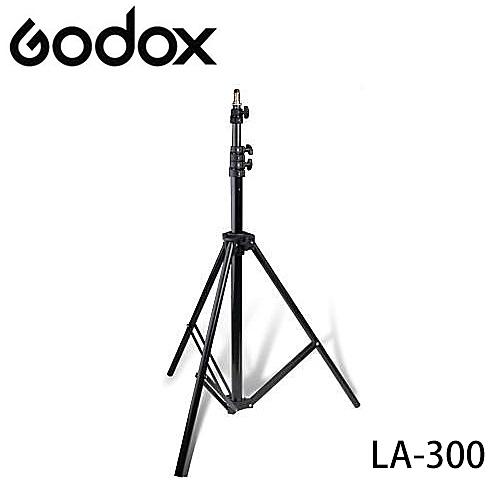 ◎相機專家◎ Godox 神牛 LA-300 300cm 3/8公螺絲 鋁材燈架 柔光燈架 閃光燈架 棚燈架 LA300 公司貨