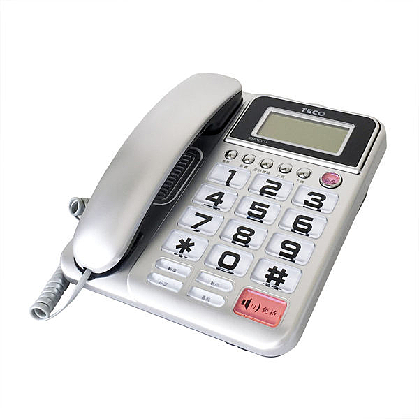 TECO 東元 來電顯示有線電話 XYFXC011