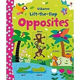 【幼兒認知翻翻書:對比概念】USBORNE: LIFT-THE-FLAP OPPOSITES BOOK