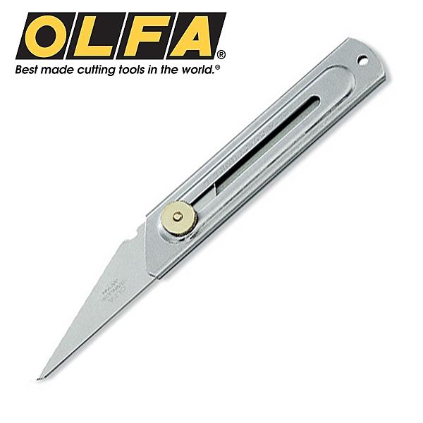 美工刀 日本 OLFA CK-2  不銹鋼工藝刀削木用 【文具e指通】  量販團購
