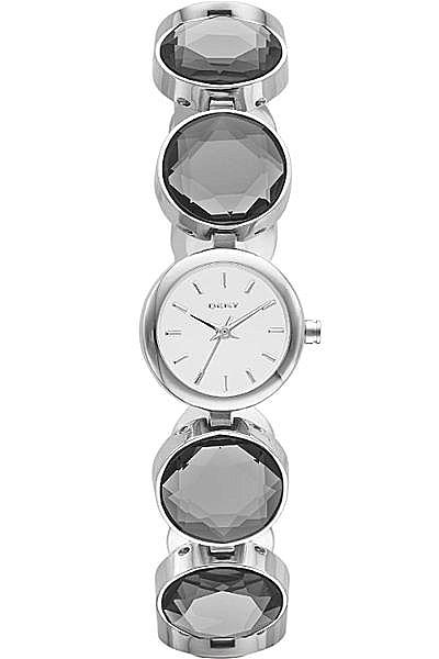 【時間光廊】DKNY 鏡面 糖果圈圈 圓型 切割面錶帶 時尚錶款 全新原廠公司貨 NY2123