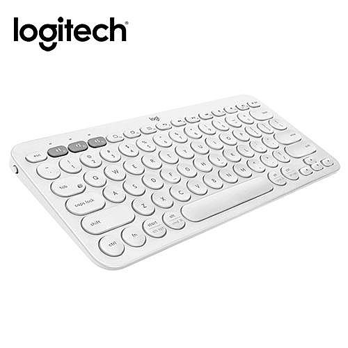 Logitech羅技 K380多工藍芽鍵盤 珍珠白
