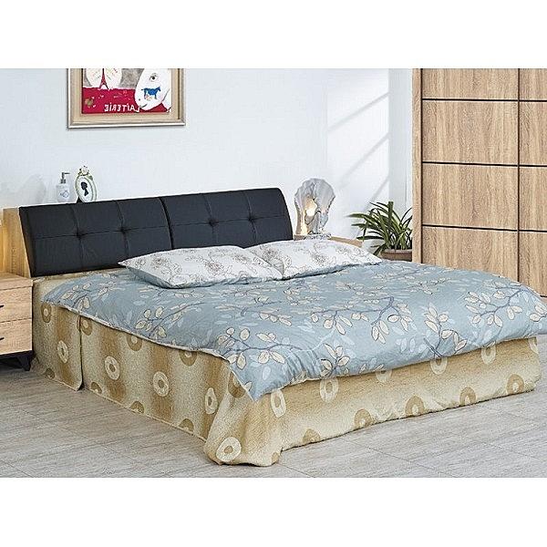床架 CV-185-5A 多瓦娜6尺雙人床 (床頭+床底)(不含床墊) 【大眾家居舘】