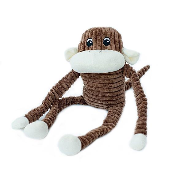 【毛麻吉寵物舖】ZippyPaws 就是愛吵鬧-大棕猴史賓賽  有聲玩具