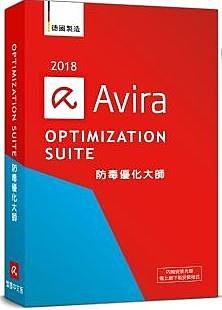 AVIRA小紅傘防毒優化大師2018中文1人2年盒裝版