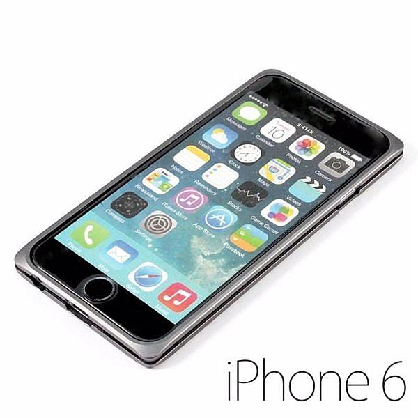 UptionTek Miyabi 雅 for iPhone 6 4.7吋 極致輕薄型 鋁合金保護框 鈦空灰