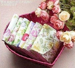 純棉三折式 私密衛生棉包/衛生巾袋 衛生巾收納包