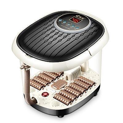 泡腳機 足浴盆洗腳器泡腳深桶全自動電動加熱按摩足療機浴足家用恒溫塑料 220V i萬客居