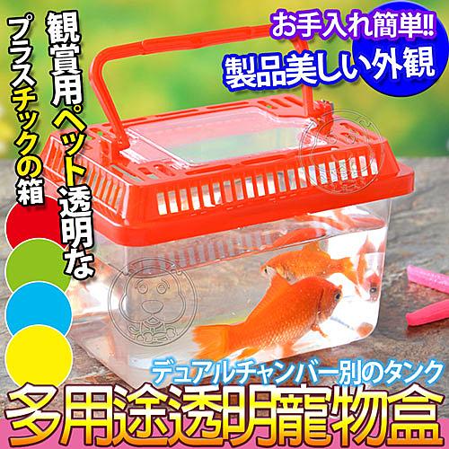 【培菓平價寵物網】dyy》水族箱魚缸寵物盒2L號32*22*19cm