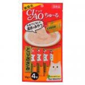 【新品/取寄品】CIAO ちゅ~る とりささみ 14g×4本 SC-73