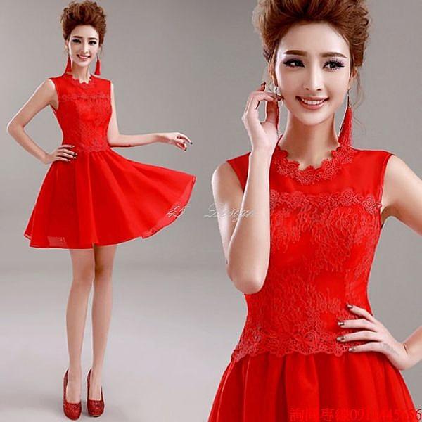 (45 Design) 訂做款式7天到貨中大尺碼 可定做顏色 禮服 結婚 喜宴 尾牙 春酒 短洋裝禮服 專業訂製款