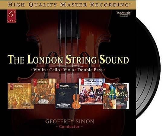 【停看聽音響唱片】【黑膠LP】倫敦提琴之聲 (180g LP)