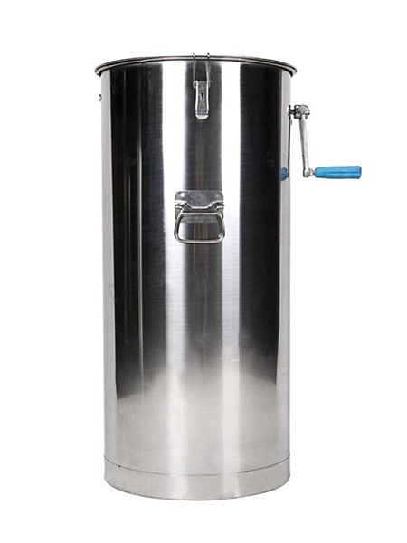 小型家用搖蜜機可訂304全不銹鋼加厚養蜂甩密蜂蜜搖糖機 ATF 青木鋪子