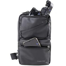 ボディバッグ メンズ 防水 軽量 左右肩掛け可能7.9インチiPad収納可能 ワンショルダー 男性 ショルダーバッグ 通勤通学 斜め掛けバッグ