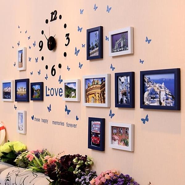 地中海裝飾畫臥室壁畫現代簡約客廳沙髮背景牆面掛畫組合餐廳牆畫-享家