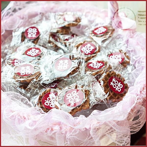 獨家?【小囍餅-手燒黑糖煎餅X100片+大提籃X1個-(限宅配)】-二次進場 送客 candybar
