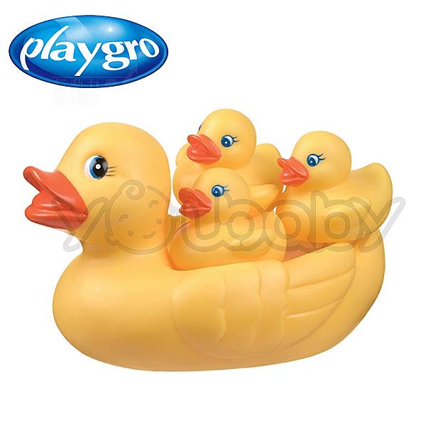 澳洲Playgro  洗澡小鴨家族/洗澡玩具