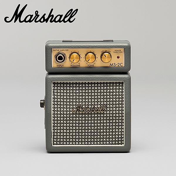 ★集樂城樂器★Marshall MS-2C攜帶型小音箱(銀色)~限量