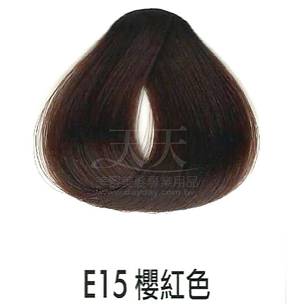 【專業推薦】耐婷 亮彩染髮劑 E15-櫻紅色 60g [68667]