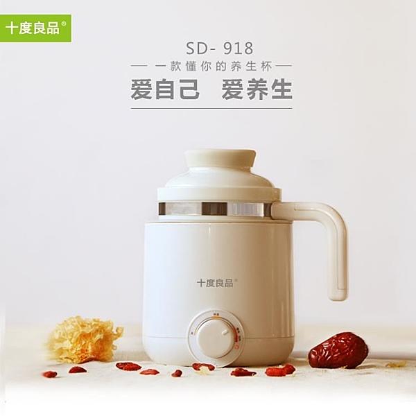 陶瓷養生杯迷你熱水壺煲湯煮粥神器電燉杯1人2便攜 黛尼时尚精品