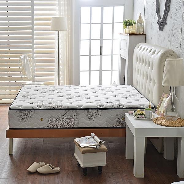 床墊 獨立筒 飯店用-超涼感紗-咖-抗菌蜂巢獨立筒床墊-單人3.5尺-破盤價-$7500