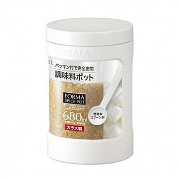 ASVEL彩色調味油罐 680ml 白色